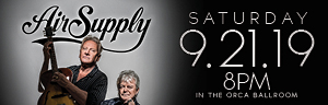 Play slots at Tulalip Resort Casino just north of Bellevue and Seattle on I-5, and enjoy live performances like Air Supply on September 21, 2019 - get your tickets!