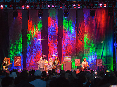 Pop Rock Performance View at Tulalip Amphitheatre 2013