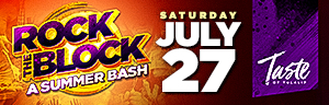 Enjoy Tulalip Resort Casino south of Vancouver, BC near Seattle on I-5 with Taste of Tulalip Presents Rock the Block in the Tulalip Amphitheatre Saturday, July 27 - get your tickets!