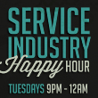 Click to see the service industry happy hour flyer for Tuesdays at Tulalip Resort Casino just north of Seattle on I-5!