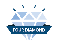 AAA Four-Diamond hotels and restaurants, which represent just 4.2% of the total, are an exclusive group.