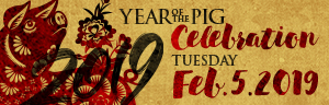 At the fabulous Tulalip Resort Casino north of Bellevue and Seattle on I-5 celebrate the Lunar New Year on Tuesday, February 5, 2019 - get your tickets!