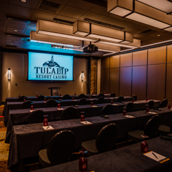 The fabulous Tulalip Resort Casino just north of Bellevue and Seattle on I-5 has spectacular meeting facilities and staff available for your event - check out Chinook II!