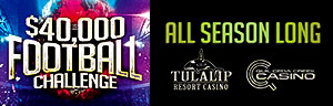 $40,000 Pro Football Challenge at Tulalip Resort Casino ONE Club