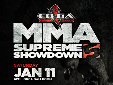 MMA Supreme Showdown 5 - January 11, 2020
