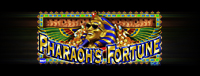 The fabulous Tulalip Resort Casino south of Vancouver, BC near Seattle on I-5 invites you to play the breathtaking Pharaoh's Fortune Vegas-style slot machine!