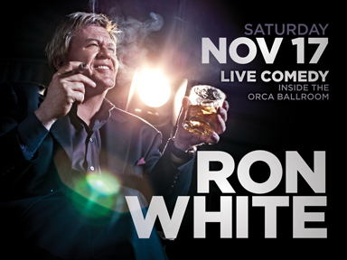 Play slots at Tulalip Resort Casino north of Tacoma near Marysville, WA on I-5 and see live performances like Ron White in the Orca Ballroom on Saturday, November 17th!