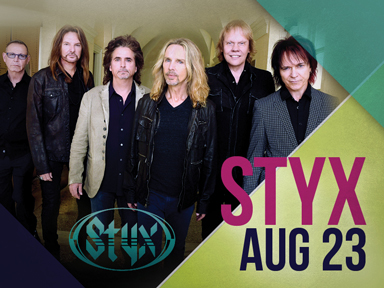 Play slots at Tulalip Resort Casino south of Richmond, BC near Seattle on I-5 and enjoy live music like Styx at the Tulalip Amphitheatre, August 23rd, 2018!