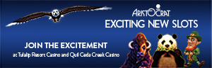 Playing slots at Tulalip Resort Casino gets even more exciting with the new Aristocrat slot machines in the mix - located south of Vancouver, BC near Seattle on I-5!