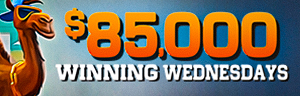 Play slots at Tulalip Resort Casino just north of Everett on I-5 to enter the $85,000 WINNING WEDNESDAY drawing!