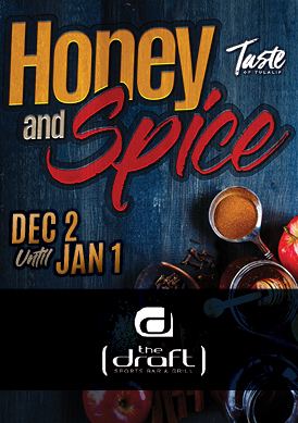 Image of Honey & Spice 2019 promotion at Tulalip's Blackfish restaurant
