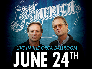 The fabulous Tulalip Resort Casino near Seattle on I-5 hosted the popular band America on Saturday, June 24th!