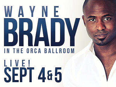 Comedian Wayne Brady performed two shows at Tulalip Resort Casino September 4th and 5th, 2015