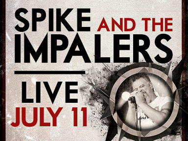 Spike and the Impalers performed live at the Tulalip Amphitheater July 11, 2014