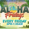 Play slots at Tulalip Casino north of Seattle near Marysville, WA on I-5 and enjoy Canoes Cabaret on Aloha Fridays - every Friday starting June 1st from 6 PM to 1:30 AM!