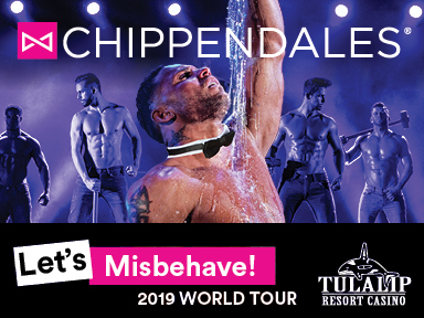The fabulous Tulalip Resort Casino south of Vancouver, BC near Seattle hosted Chippendales on April 5th and 6th, 2019!