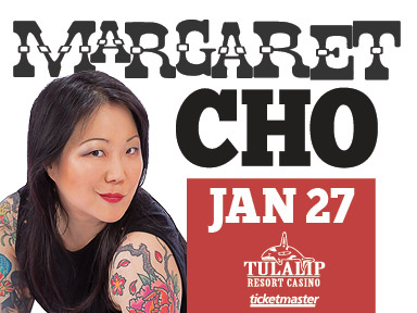 Tulalip Resort Casino near Seattle hosted comedienne, actress, fashion designer, author, and singer-songwriter Margaret Cho January 27th, 2017