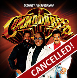Tulalip Resort Casino The Commodores May 8th, 2020 event has been cancelled.