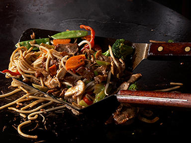 Delicious and fresh right off the Mongolian grill at Tulalip Resort Casino's Eagles Buffet