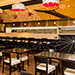 Journeys East Asian cuisine to dine in or take out at luxurious Tulalip Casino Resort near Seattle – dining room view