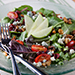 Cedars Cafe garden salad at Tulalip Resort Casino near Everett