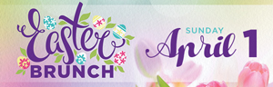 Enjoy Easter Brunch at Tulalip Resort Casino north of Bellevue near Marysville, WA on I-5 in the Orca Ballroom - get your reservations!