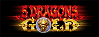 Play slots at Tulalip Resort Casino north of Everett near Marysville on I-5 like the exciting 5 Dragons Gold video gaming machine!