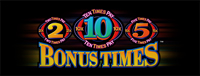 Come into The Tulalip Resort Casino to play the slot machine Bonus Times 2x, 5x, 10x just South of Seattle in Marysville, Washington.