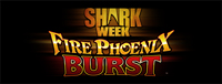 Play slots at Tulalip Resort Casino south of Vancouver, BC near Seattle on I-5 like the exciting Fire Phoenix Burst for Shark Week  - Progressive premium video gaming machine!