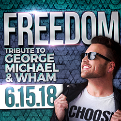 The fabulous Tulalip Resort Casino south of Vancouver, BC near Seattle on I-5 invites you to watch Freedom play a tribute to George Michael and Wham - get your tickets!