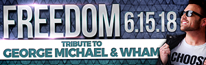 The fabulous Tulalip Resort Casino south of Richmond, BC near Seattle on I-5 invites you to watch Freedom play a tribute to George Michael and Wham - get your tickets!