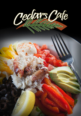 Tulalip Resort Casino restaurant Cedars Café serves up a wide range of menu offerings, providing a relaxed atmosphere for breakfast, lunch, or dinner