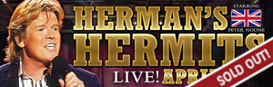 Play slots at Tulalip Resort Casino south of Richmond, BC near Seattle on I-5, and see Herman's Hermits perform live - tickets are sold out!