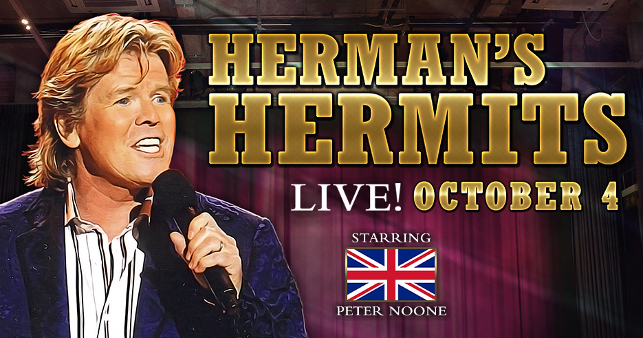 Image of Herman's Hermits who will be performing at the Tulalip Resort Casino October 4, 2019