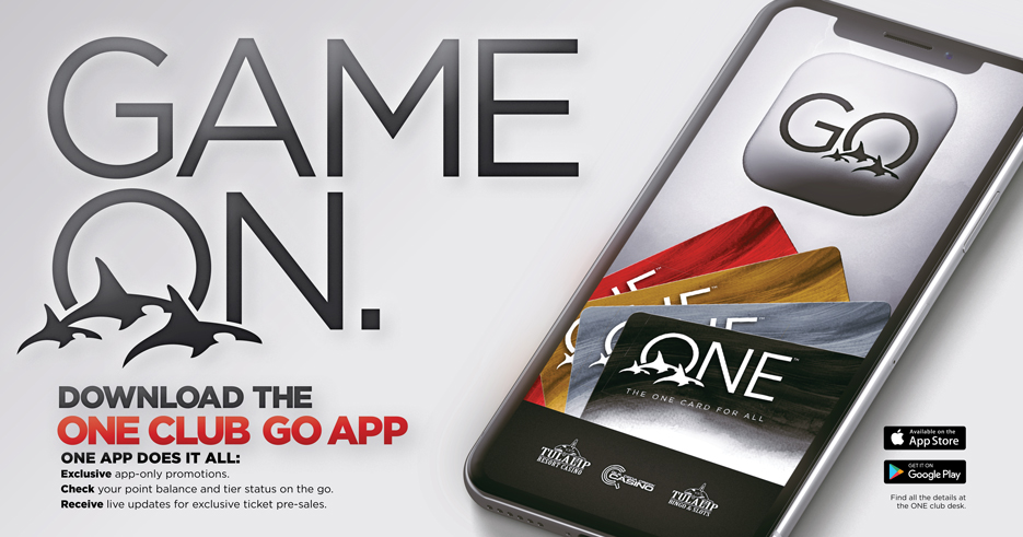 Tulalip Resort Casino, Quil Ceda Creek Casino, and Bingo app. The one app for it all. Download the ONE club app today via Apple store or Google play.