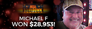 Play slots at Tulalip Resort Casino south of Richmond, BC near Seattle on I-5 like Michael F. hitting a huge jackpot on Mega Vault!