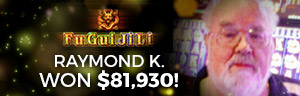 Raymond K. won $81,930 playing Fu Gui Ji Li - Animal Adventure slot machine
