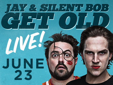 The fabulous Tulalip Resort Casino near Seattle on I-5 hosted Jay & Silent Bob Get Old on Friday, June 23rd!