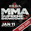 Tulalip Resort Casino, entertainment presented for MMA Supreme Showdown 5, Saturday, January 11th, 2020 at 8:00 PM, doors open 7:00 PM.