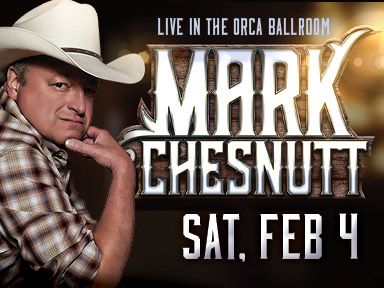 Tulalip Resort Casino near Seattle hosted comedian Mark Chesnutt on Saturday, February 4th, 2017!