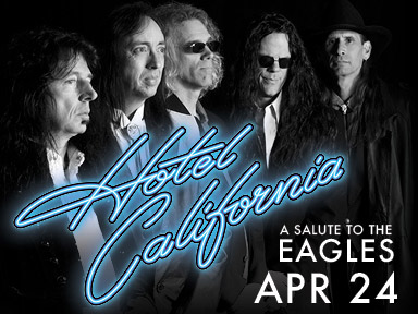 Hotel California played a tribute to the Eagles in the Orca Ballroom of the fabulous Tulalip Resort Casino on Saturday, April 24th.