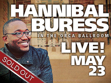 Comedian Hannibal Buress performed live May 23rd at Tulalip Resort Casino