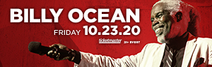 Play slots at Tulalip Resort Casino south of Richmond, BC near Marysville on I-5, and enjoy Billy Ocean live in concert in the Orca Ballroom on Friday, October 23, 2020 - get your tickets!