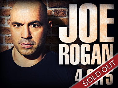 Comedian Joe Rogan performed live at Tulalip Resort Casino April 3rd, 2015