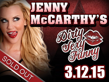 Jenny McCarthy hosted her Dirty Sexy Funny tour live at Tulalip Resort Casino March 12, 2015