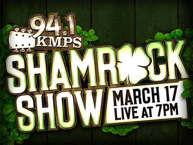 94.1 KMPS Shamrock Show on Saint Patrick's Day March 17th, 2015 at Tulalip Resort Casino