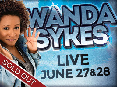 Comedienne Wanda Sykes performed two shows live June 27th and 28th at Tulalip Resort Casino