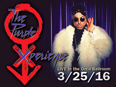 The Purple Xperience performed live in the Orca Ballroom on Friday, March 25th at 8:00 PM at the fabulous Tulalip Resort Casino just north of Seattle on I-5!