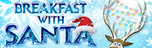 Enjoy a breakfast buffet and family photo with Santa at Tulalip Resort Casino.