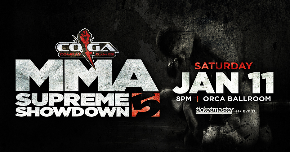 Tulalip Resort Casino MMA Supreme Showdown 5 January 11th, 2020